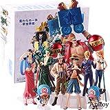 Anime One Piece Rufy Zoro Sanji Nami Chopper Robin Franky Usopp Brook One Piece Action Figure PVC da collezione Model Toy