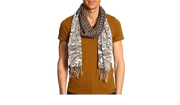 Devred - Echarpe homme motif cachemire et pois U  Amazon.fr  Vêtements et  accessoires d601e16562e