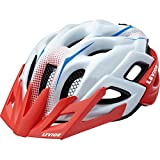 LEVIOR Status Junior M red white matt Fahrradhelm