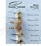 Traun River Fliegensortiment Modern Mayfly SetInhalt 6