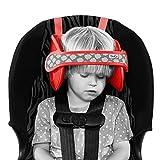 Kindersitz Kopfstütze, Kopfhalterung & sicherer Kinder Kopfschutz - Autokindersitz Kopfband & Stirnband Kopfhalter zur sicheren Kopf Fixierung beim Schlafen im Kinderautositz - von NapUp in...