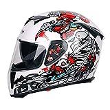 Die besten Full Face Motorradhelme - Motorradhelm Männer Und Frauen Anti-Fog Full Face Helm Bewertungen