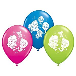 Pioneer national latex bubble guppies 12 latex balloons - Jeux bubble guppies ...