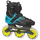 Roller Derby 110mm 3-Inline Skate, RE261BU, Schwarz, 12