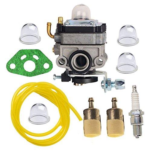 HIFROM Vergaser Carb Kit mit Dichtung Primer Verstellbar Fuel Line Kraftstoff-Filter für Honda GX25gx25N gx25nt ersetzt 16100-z0h-825 -
