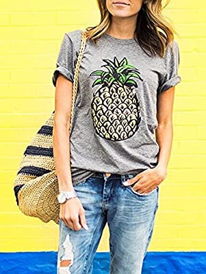 VU*LK Damen Ananas print