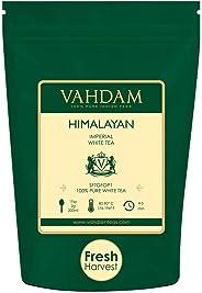 Tè bianco imperiale dell'Himalaya in foglie – Il tè più sano al mondo, ricco di POTENTI ANTIOSSIDANTI, raccolto fresco a mano
