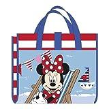 familie24 Disney Strandmatte + Nackenrolle AUSWAHL Campingdecke Picknickdecke Isomatte Strandhandtuch Strandtuch (Minnie Maus)