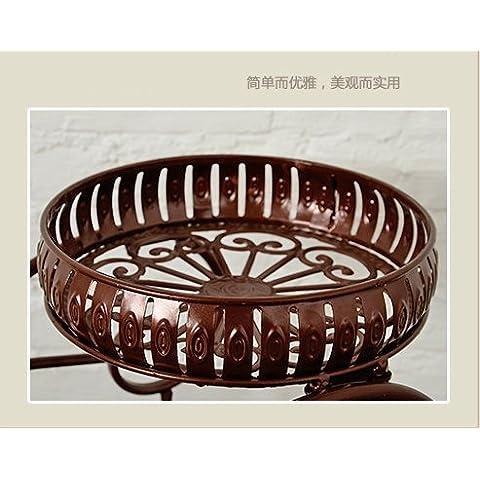 Ferro battuto Continental creatività moda Soggiorno il ferro battuto balcone esterno verde (Stand Livello Ferro Battuto Impianti)