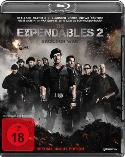Bild von The Expendables 2 - Back for War (Special Uncut Edition) [Blu-ray] [Special Edition]