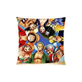 Best taies d'oreiller couvre Home Fashion Oreillers - Homeli Anime One Piece Custom Taie d'oreiller doux Review