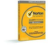 Norton Security 2017 Premium (Edition Familiale / 1 an) + Sauvegardes & Contrôle Parental (PC/Mac/Android/iOS)