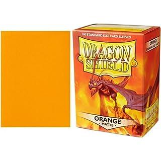Arcane Tinmen ApS ART11013 Dragon Shield Sleeves Matte Orange Card Game