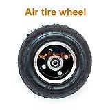 200x50 elektrisches Roller-festes Rad keine Luft 8 Zoll-Roller-Rad mit festem Reifen-Legierungs-Nabe