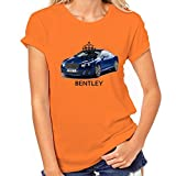 Car Love Bentley T-Shirt Womens Classic T-Shirt