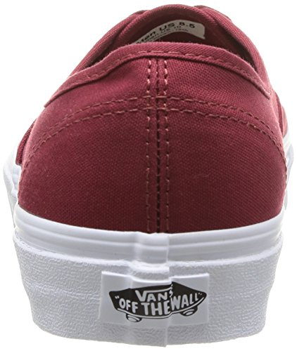 Vans U Authentic - Baskets Mode Mixte Adulte Rouge (Sun Dried Tomato)