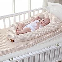 Aik@ Portátil Multifuncional Cuna,Plegable Colecho Cuna De Viaje Cama De Bebé Transpirable Fibra