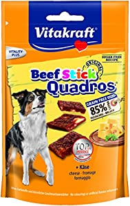 VITAKRAFT Quadros Viande/Fromage Friandise pour Chien 70 g