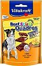 Vitakraft Hundesnack Fleisch-Happen Beef Stick Quadros, 70 g