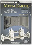 Fascinations Metal Earth MMS022 - 502566, London Tower Bridge, Konstruktionsspielzeug, 2 Metallplatinen, ab 14 Jahren