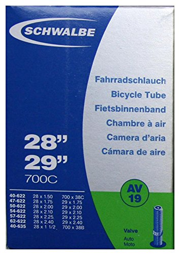 Schwalbe Fahrradzubehör Schlauch AV19  40-622 bis 60-622, 29 Zoll, 10430340