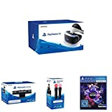 PS4: PlayStation VR + PlayStation Kamera  + PlayStation Move Motion-Controller - Twin Pack + PlayStation VR Worlds