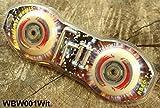 LED Ersatzrollen Ersatzrolle Rolle Ersatzräder Rad Waveboard Skateboarding Weiss Weiß mit ABEC 7 Lager schon eingepresst, Achsen und Werkzeug