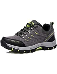 FMCAMEL Zapatos de Senderismo,Impermeable Hombre Mujer Zapatos de Montaña para Paseos Viajes Zapatillas de