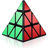 Roxenda Speed Cube Profession 3x3x3 Speed Cube - Easy Twist and Gentle Play - Super Durable Sticker with Vibrant Colours - Turns Faster and More Accurate Than The original.