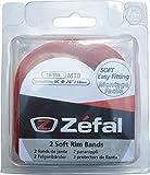 ZEFAL Fond de Jante souple PVC VTT 26' 18 mm Rouge