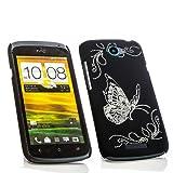 Butterfly Case Handy Cover Schutz Hülle Für HTC One S