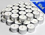 1000 (10x 100) Teelichter / Kerzen mit 4 Stunden Brenndauer