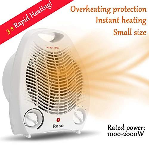 YYBF Heizung Ventilator, 2000W 220V Beweglich, Mini