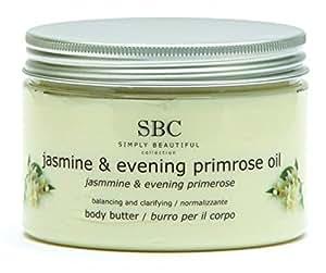 SBC Gelsomino & Olio Di Primula Notturna Burro Per Il Corpo, 450ml blister