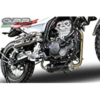GPR Escape Exhaust Systems MD.2.DEC F.B. Mondial HPS 125 2016/2017 > 03/2018 Collecteur Racing pour éliminer catalyseur décatalyseur