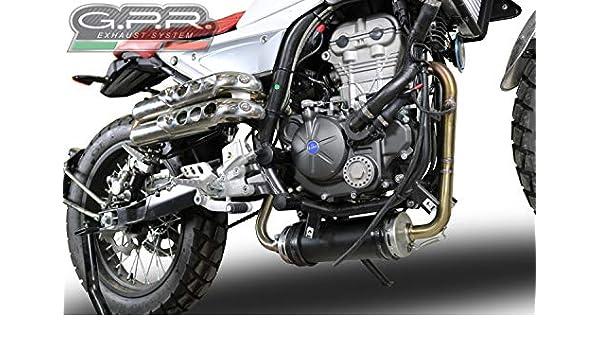 Motorcycle Slip-On Exhausts & Silencers MONDIAL HPS 125 GPR HOM ...