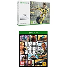 Pack Console Xbox One S 500 Go + Fifa 17 + GTA V