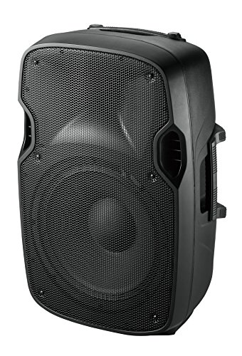 Ibiza Sound XTK8A - Altavoz amplificado (200 W, 8', XLR, Jack 6.35 mm), negro