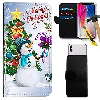 i-Tronixs UMIDIGI A1 PRO Christmas Wallet CASE (5.5