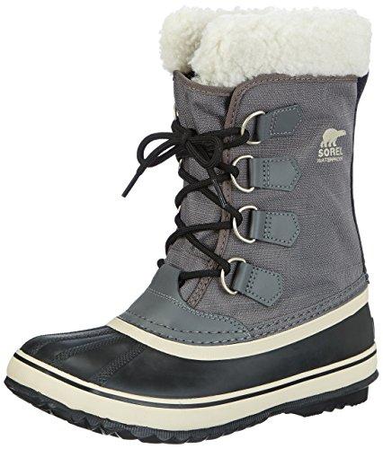 Sorel Caribou, Botas de nieve hombre, Negro (Black (Tusk 14)), 44.5 EU (10.5 UK)