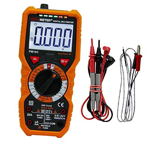 Digital Multi-tester (Sharplace Peakmeter PM18C Digital Multimeter Multi Tester Hohe Präzision)