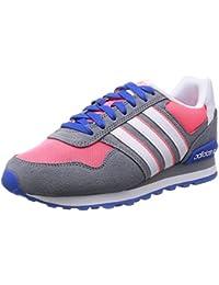 100% authentic 27379 45b27 adidas 10K W - Zapatillas Deportivas para Mujer, Color Gris Rosa   Blanco