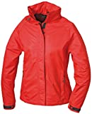 Damen Outdoorjacke Wind- und Wasserdicht L,Rot