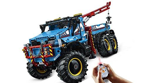 LEGO Technic - Camión Grúa Todoterreno 6 x 6, Juguete de Máquina de Construcción (42070)