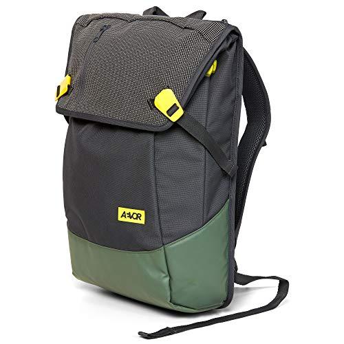"""AEVOR Daypack Rucksack - erweiterbar 18 auf 28 Liter, ergonomisch, Laptopfach 15\"""", wasserabweisend, Echo Green"""