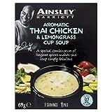 Ainsley Harriott Aromatic Thai Chicken y Lemongrass Cup Sopa - 69 gr