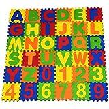 Cutez 36 piece Alpha-Numeric Puzzle set