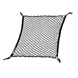 Picture Of Owfeel Cargo Net Flexible Nylon Rear Cargo Organizer Car Trunk Storage Net Black For Most Types of Cars