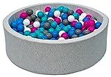 Bällebad Ballpool Kugelbad Bällchenbad Bällchenpool Kinder Pool mit 300 Bällen