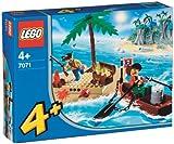 LEGO 4JUNIORS  7071 -  Schatzinsel